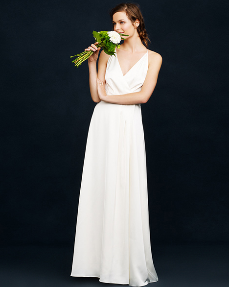 Minimalist Wedding Dress Style For The Modern Bride Wedpics Blog Minimalist Wedding Dresses Wedding Dresses Simple Jcrew Wedding Dress