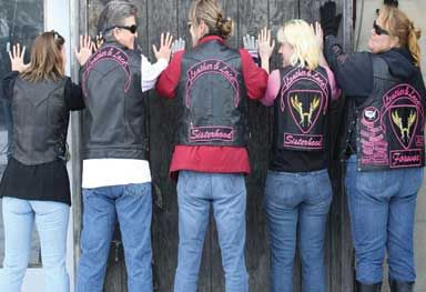 The Official Website Of The Leather Lace Mc Nation Leather And Lace Motorcycle Women Lace