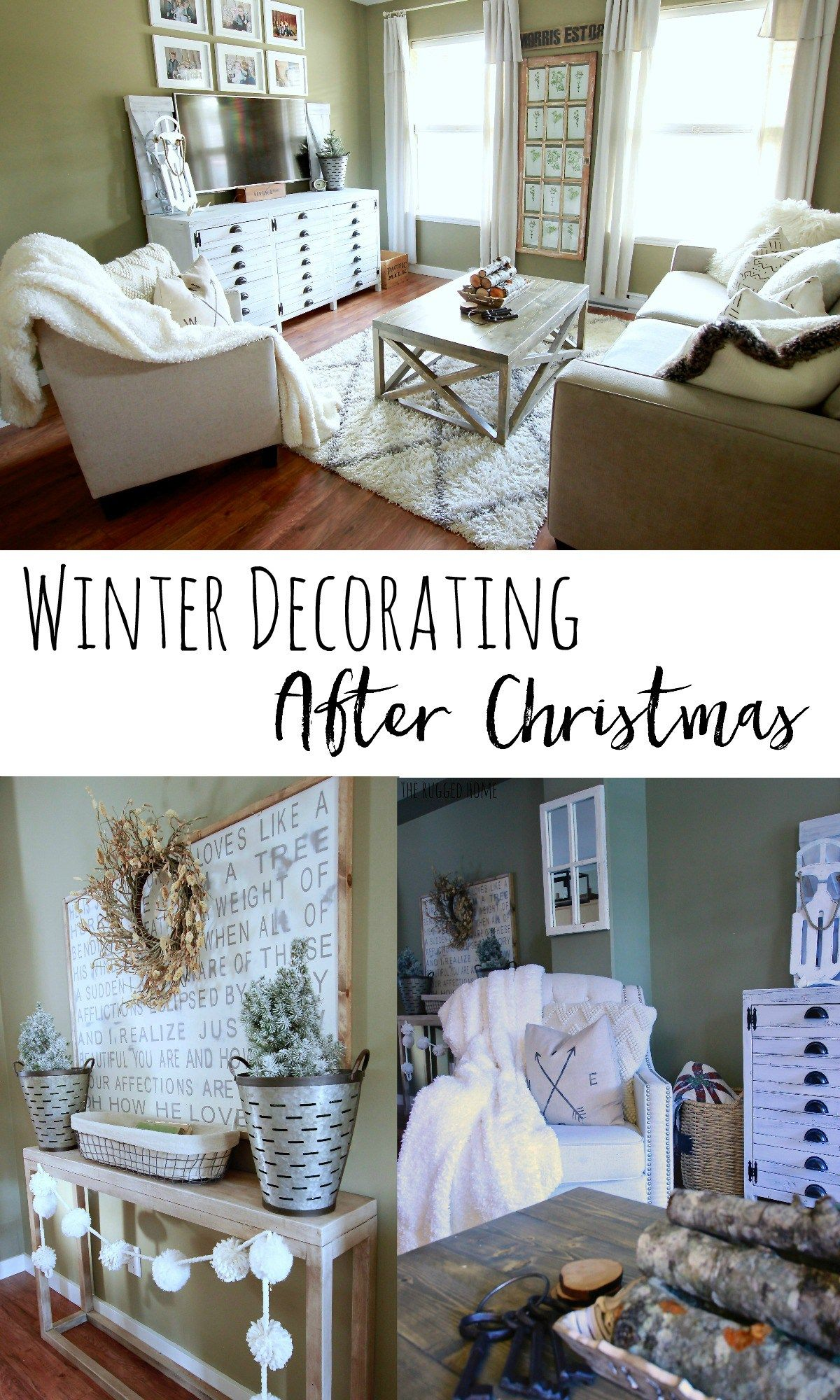 Winter Decorating After Christmas How To Decorate For