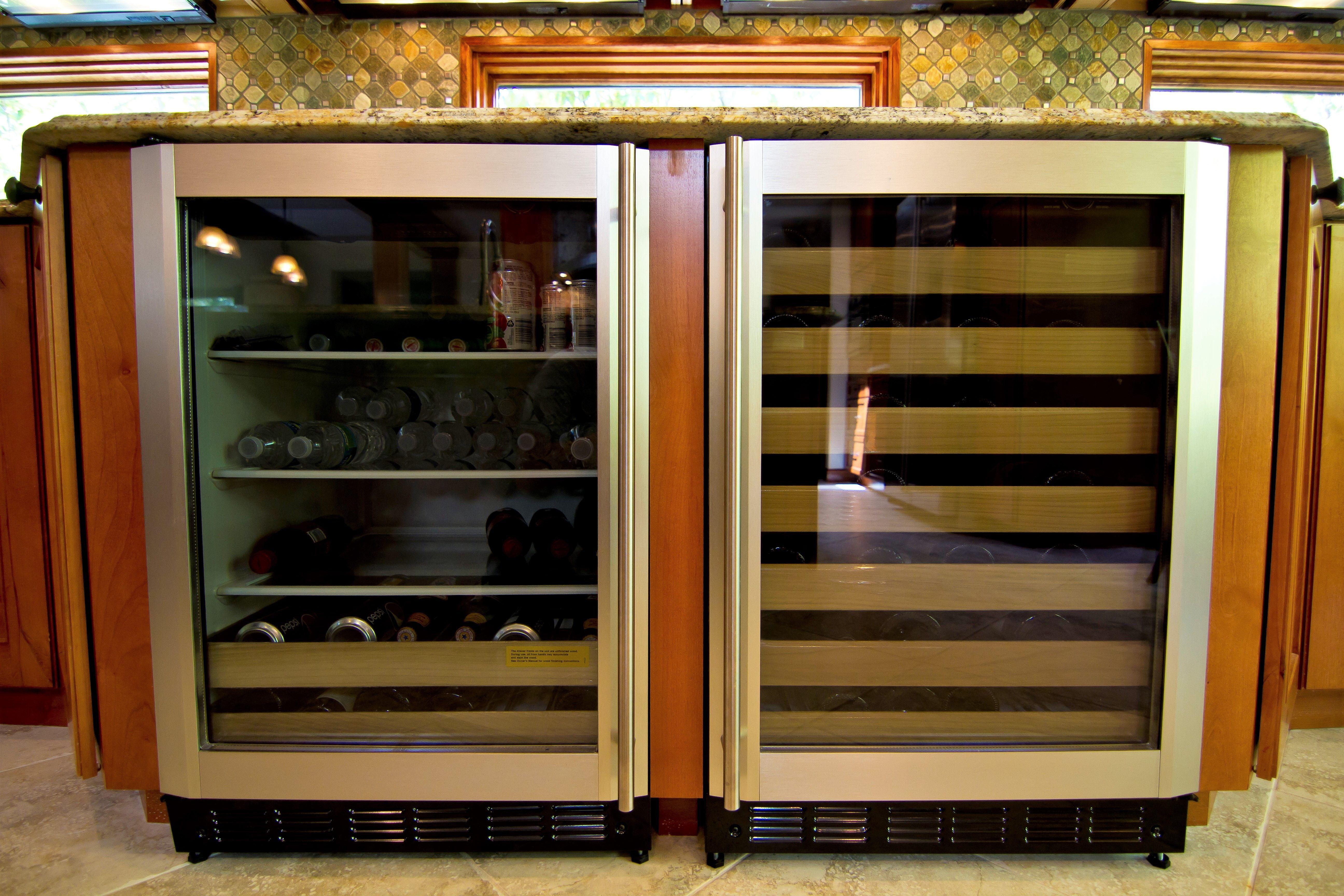Customkitchen Monarchkitchenandbathdesign Wallovens Island Woodkitchen Wetbar Winefridge Dynamicdu Kitchen And Bath Design Bath Design Kitchen And Bath