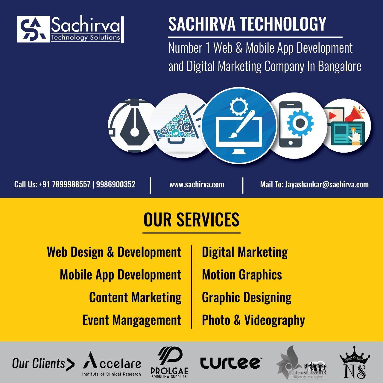 Sachirva Technology Solutions Pvt Ltd Is A Young Multi Disciplinary Development Technology Solutions Best Digital Marketing Company Digital Marketing Company