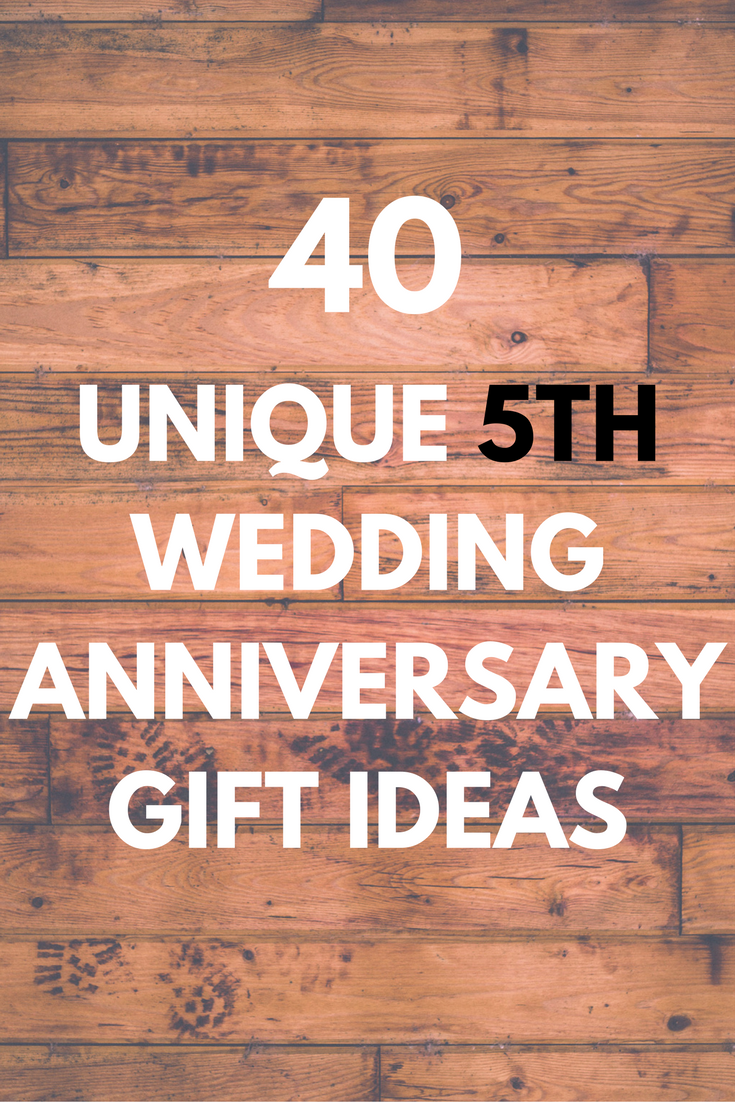 40 Unique And Personalized Wooden Anniversary Gift Ideas For Your Fifth Year Wedding