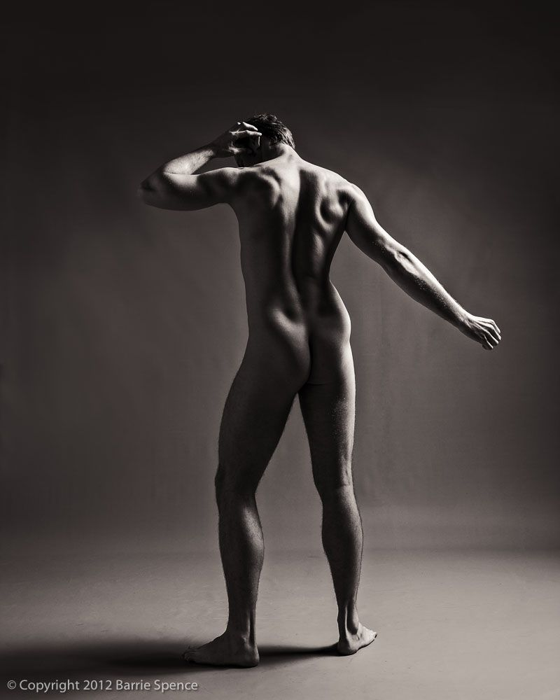 Nude men as art