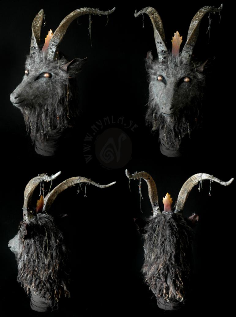 Baphomet Goat Mask by Nymla on DeviantArt | Masks | Pinterest ...