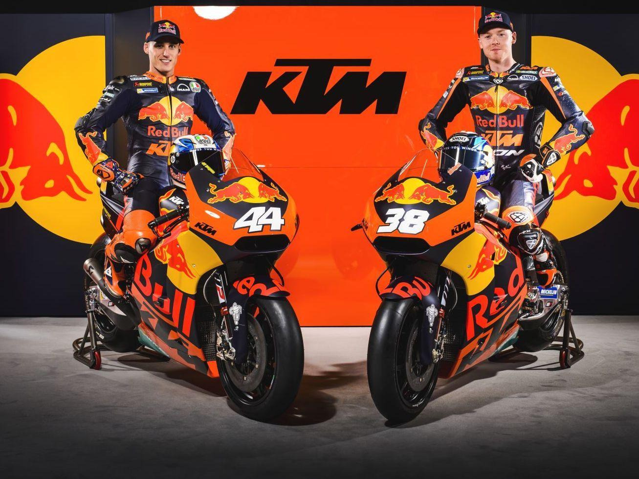 See The New Red Bull Ktm Factory Team Motogp Bikes Ktm Factory Ktm Motogp