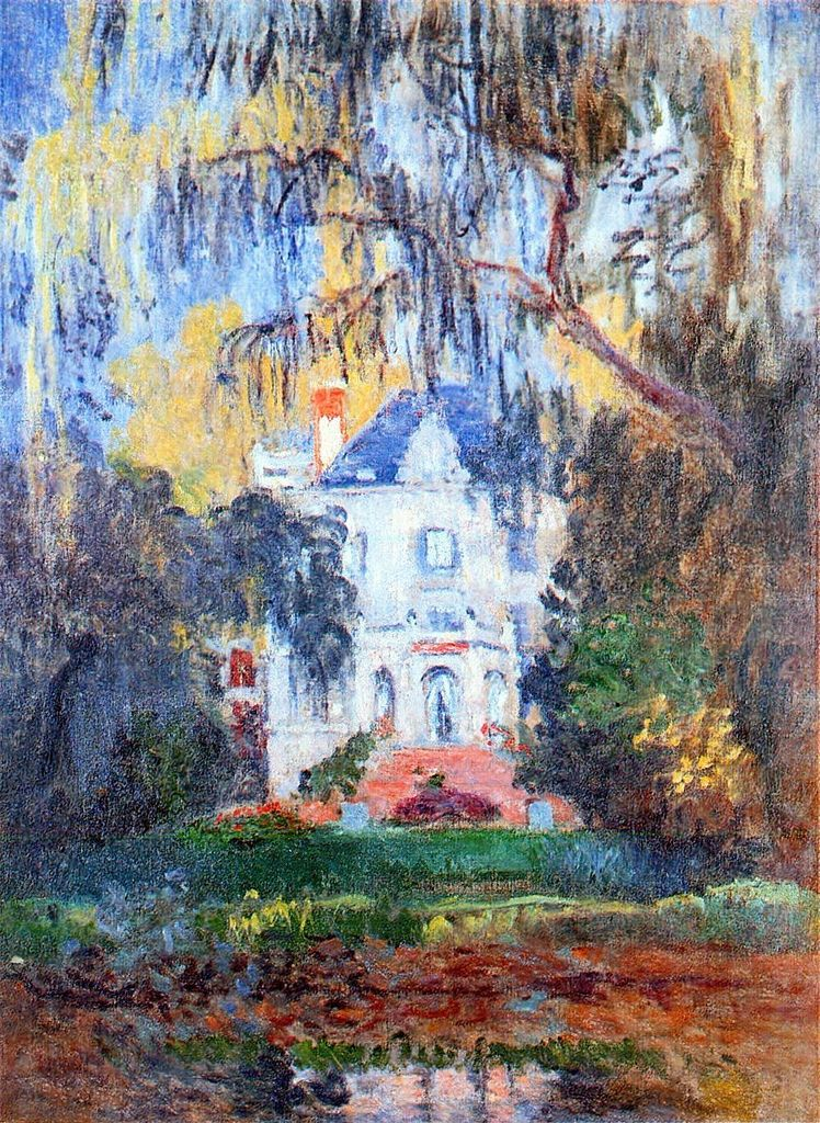 Claude Monet A Corner of the Apartment Giclee Paper Print Poster Reproduction