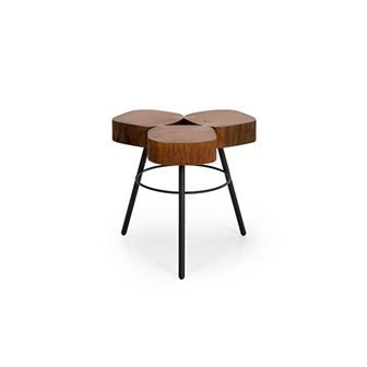 """Naturally modern - Trium 19"""" Accent Table"""