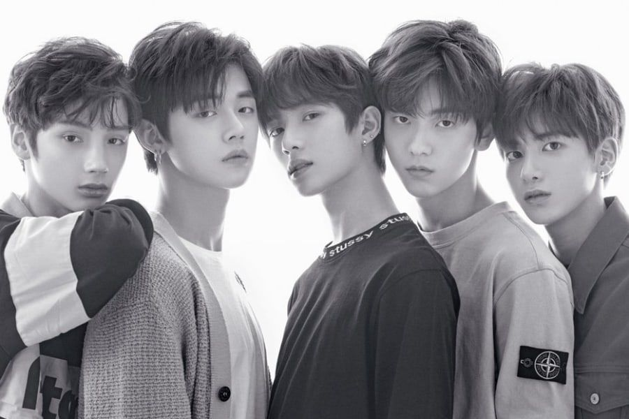 Big Hit S New Boy Group Txt Confirms Plans To Debut On Mnet Special Reveals Album Name Txt Boy Groups Record Label