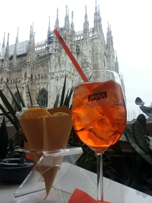 Aperitivo in Terrazza Aperol - a new emotional experience! | My ...