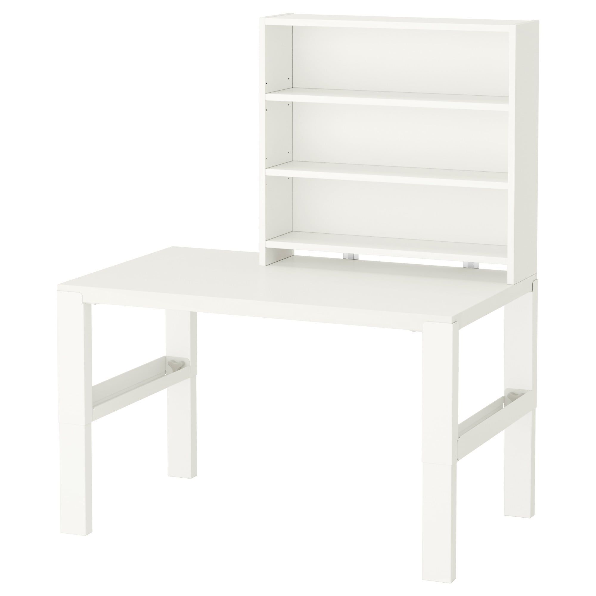 Pahl Desk With Add On Unit White 96x58 Cm Shop Ikea Ikea Shelves At Home Furniture Store Childrens Desk And Chair