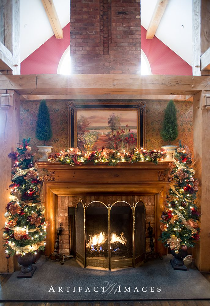 fireplace in the milk room winter weddings christmas decor at the rh pinterest com Bedford NH Zip Code Bedford NH Map