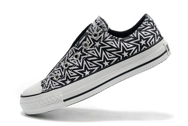 06398458c28f Converse All Star Lazy Edition Black Blue Print Without Lace Low Top Canvas