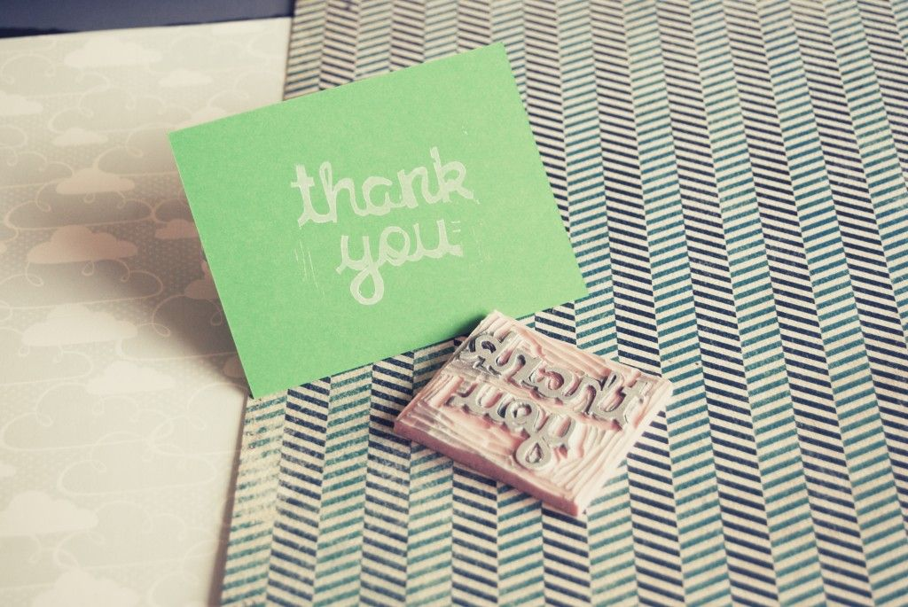 Ask The Headhunter A ThankYou Note Is Not Enough  Note Hand