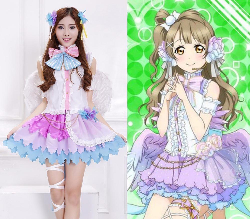 Anime Lovelive! Minami Kotori White Valentine's Day Angels