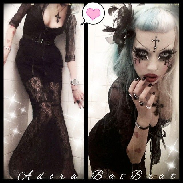 Yesterday's Goth look. #minstilnymo