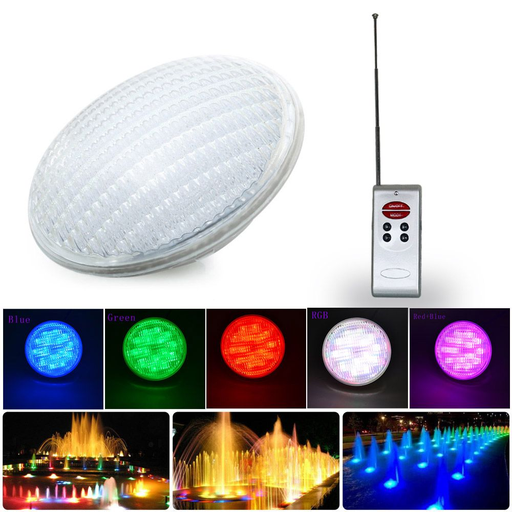 Hot Sale Led Pond Lights 40w Rgb Par56 12v Swimming Pool Lights Underwater Lights Pool Lights Underwater Lights Swimming Pool Lights