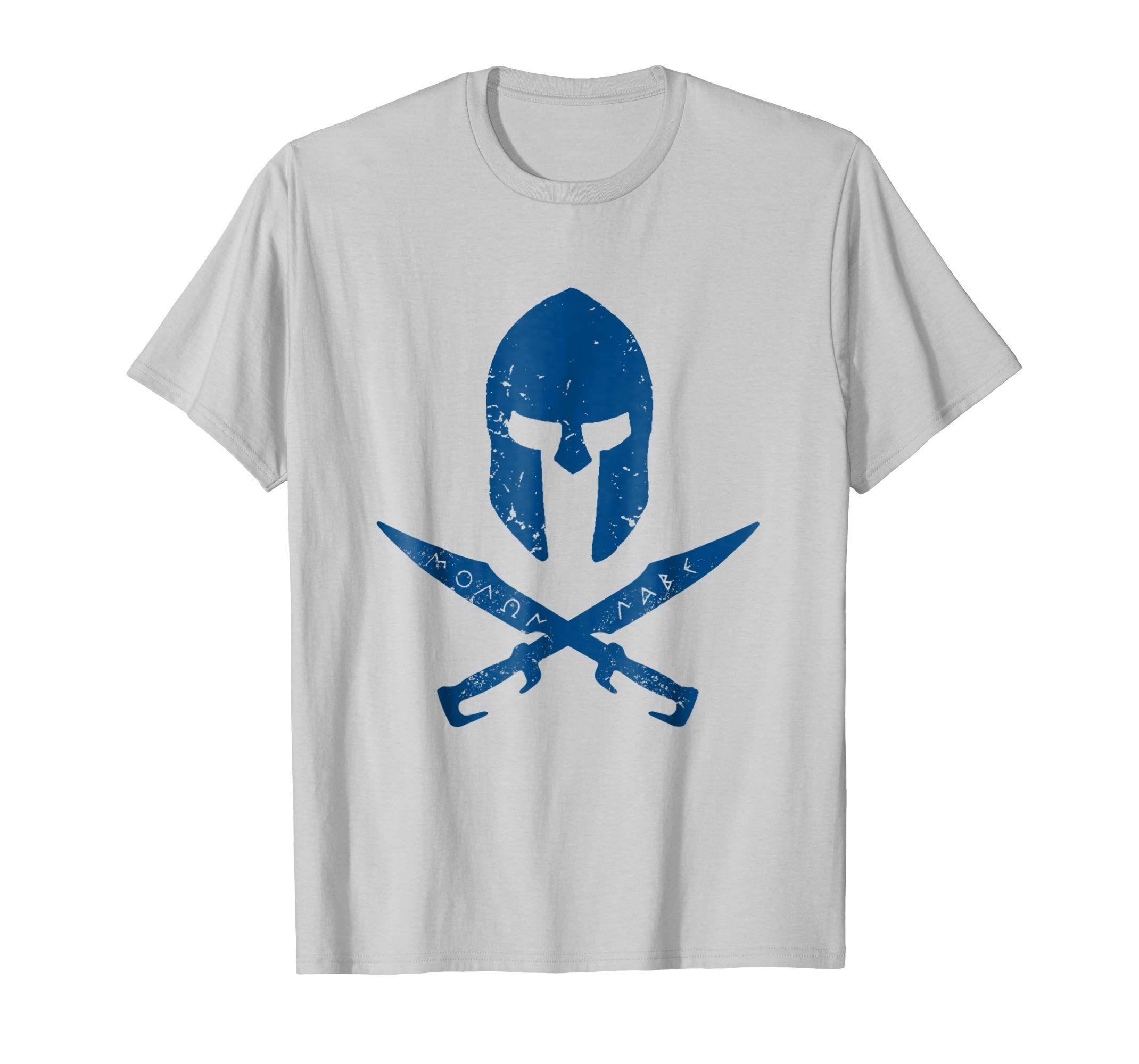 Sparte T-shirt Molon Labe Grèce tshirt