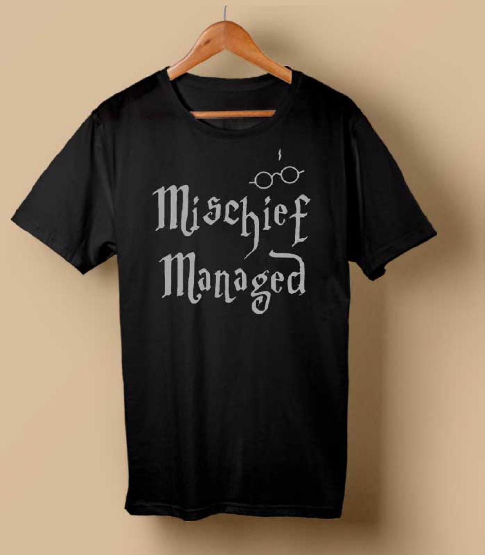 Mischief Managed Tshirt Custom shirts