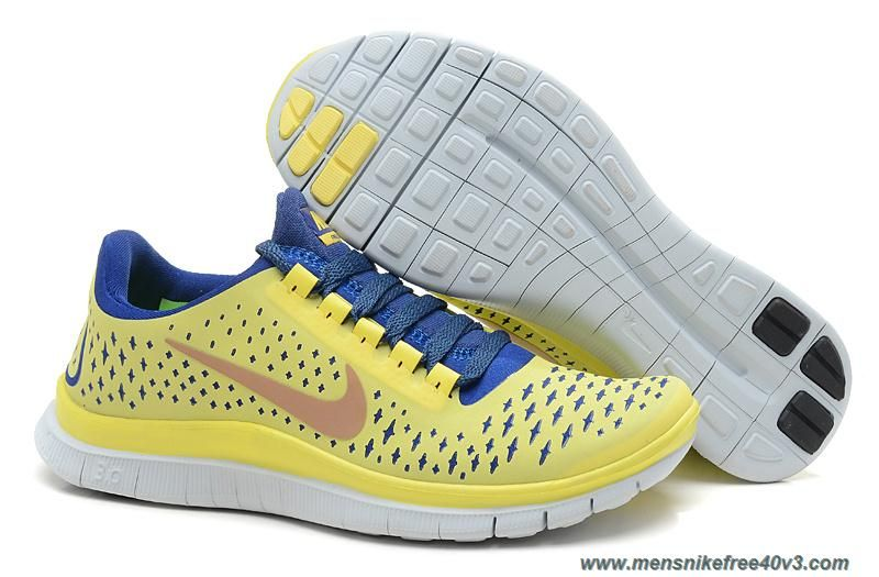 new style 3cd81 968ad ... netherlands 511495 704 electric yellow deep royal blue summit white womens  nike free 3.0 v4 outlet