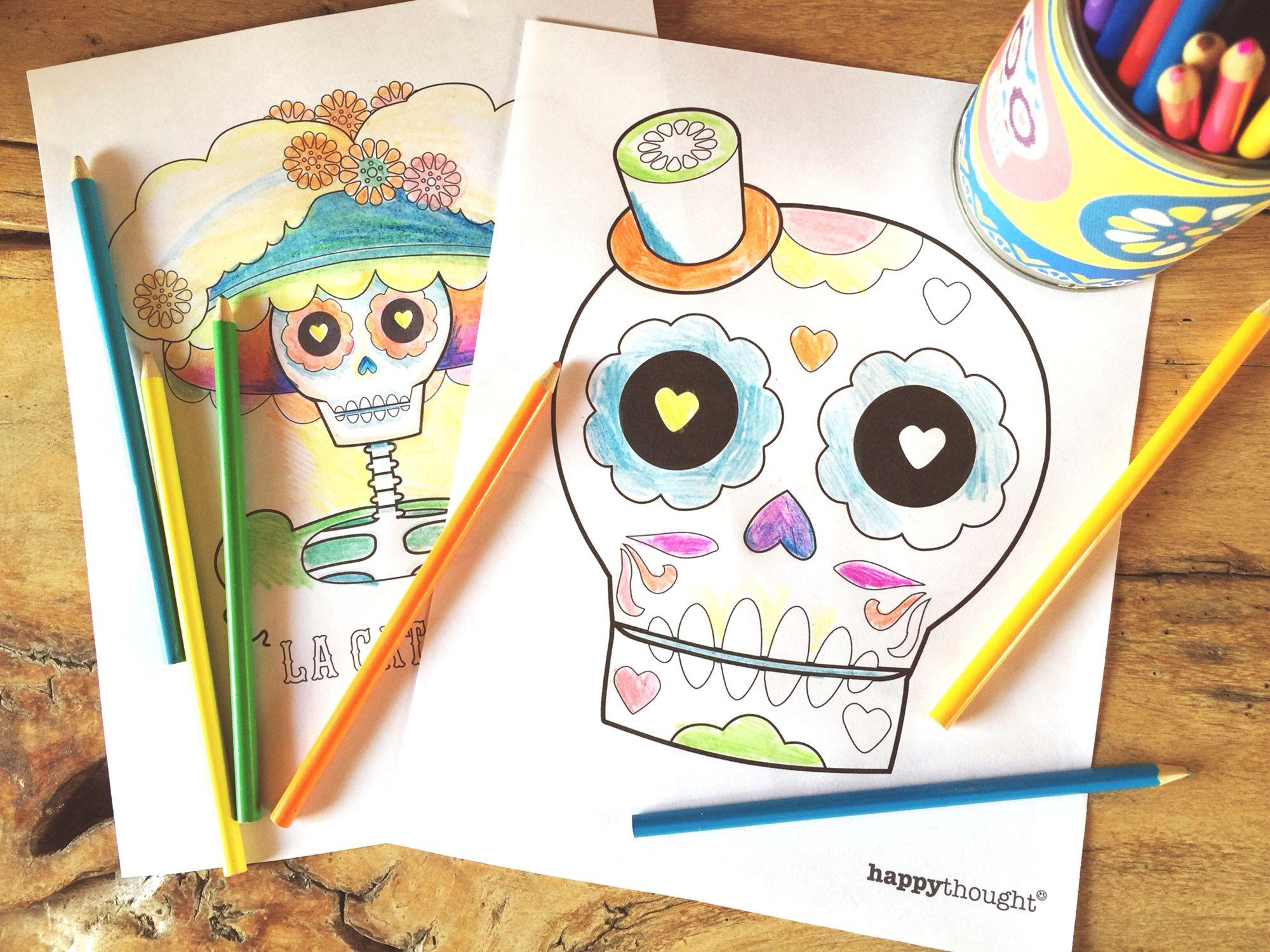Dia De Los Muertos Printables 23 Cool Diy Ideas