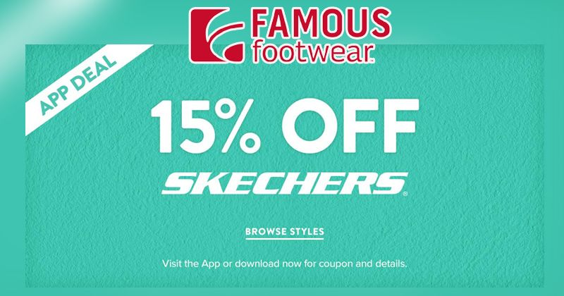 image relating to Skechers Coupons Printable named Buy 15% Off Skechers With Well-known Shoes Application #Obtain #Application