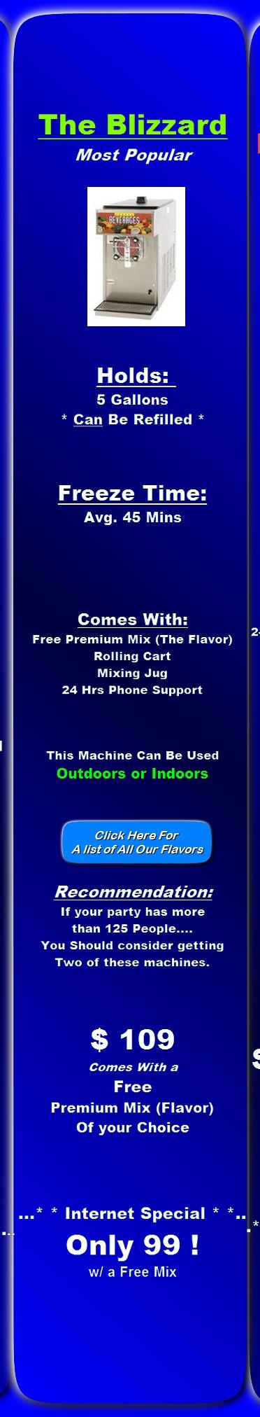 Houston Margarita Machine Rental All Of The Frozen Drink