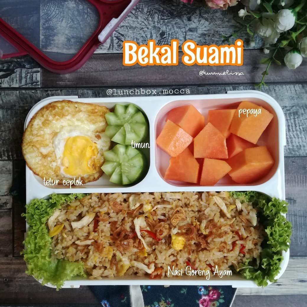 Melissa F Dapurkumels Di Instagram Assalamu Alaikum Bekal Pagi Ini Bikin Nasgor Aja Kmren Bikin Soto A Makan Siang Sehat Makan Siang Makanan Dan Minuman