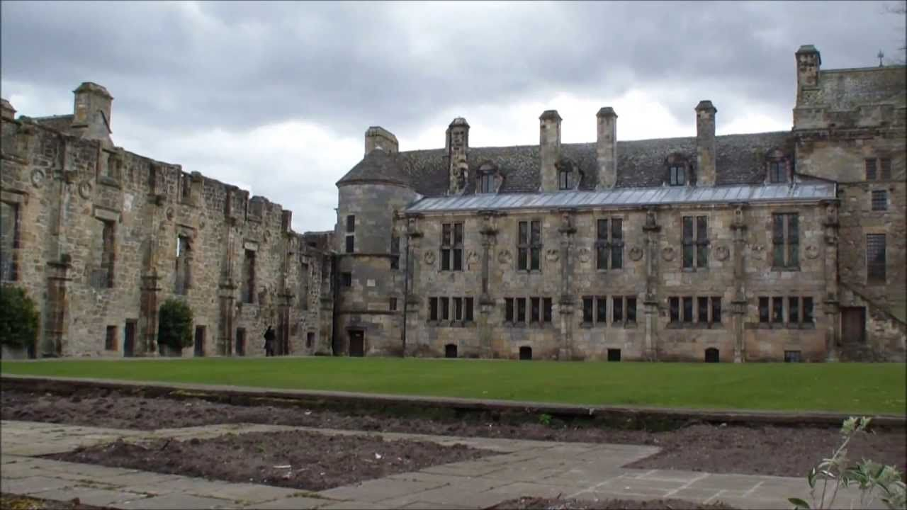 Falkland Palace, Fifeshire, Scotland - Jame V and Mary Queen of Scots