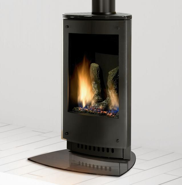 Heat 038 Glo Vrtikl Gas Fire Heat N Glo Gas Fires Free Standing Gas Fires
