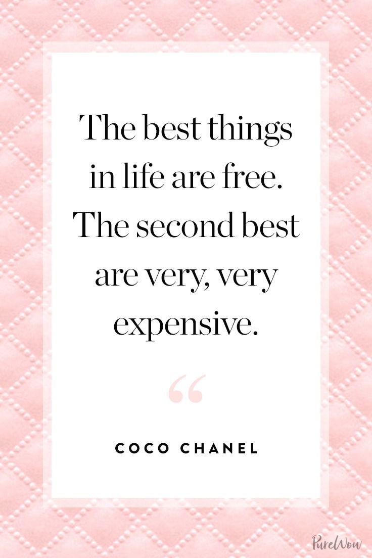 11 coco chanel quotes to guide you through life in style. Black Bedroom Furniture Sets. Home Design Ideas