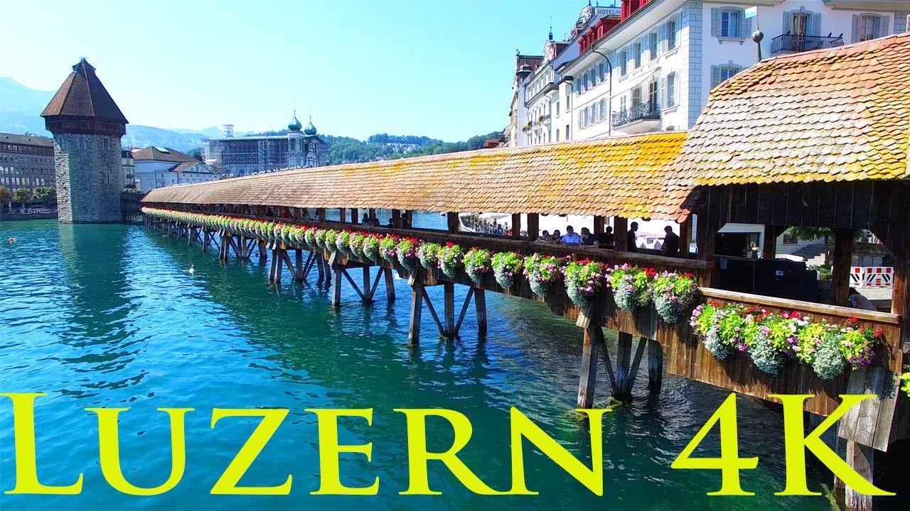 Luzern from above in Switzerland - Luzern von oben