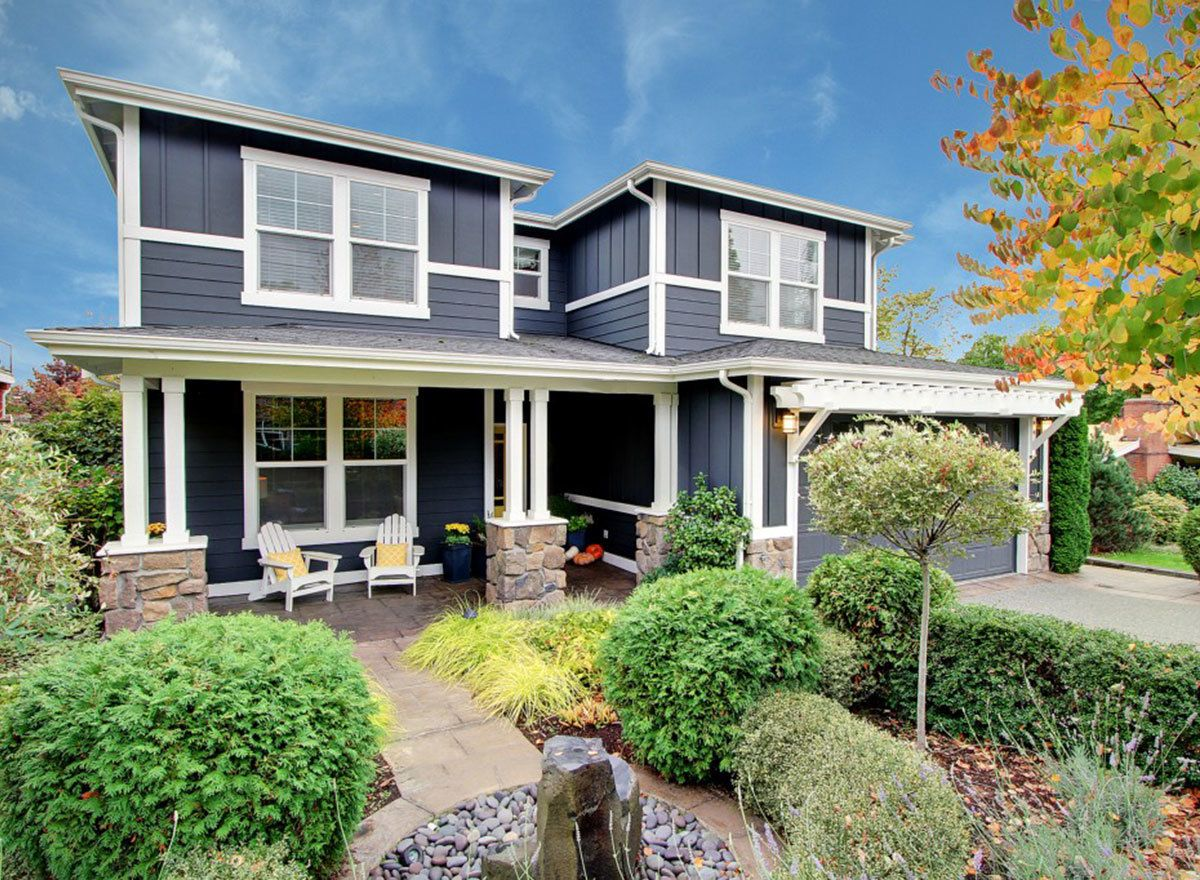 Plan 23639JD: Prairie Inspired House Plan with Porches and Second Floor Deck