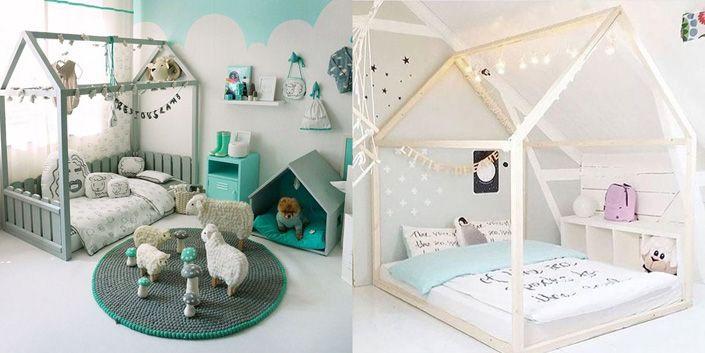 Habitacion Montessori - dormitorio infantil
