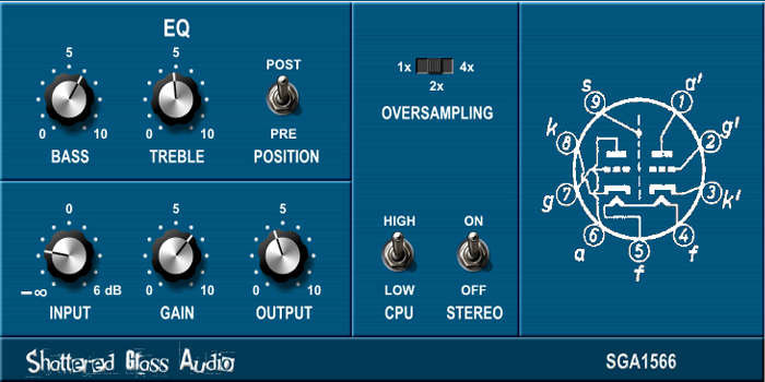 Shattered Glass Audio releases SGA1566 free tube