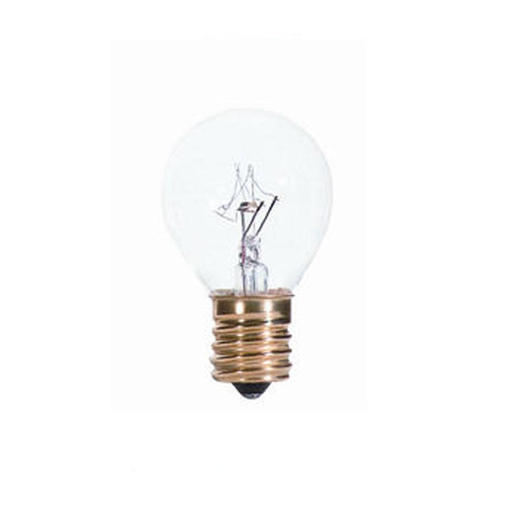40w S11 Hi Intensity Clear E17 120v Indicator Sign Bulb Case Of 25