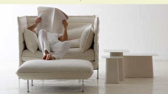 chair5 vitra's alcove sofa