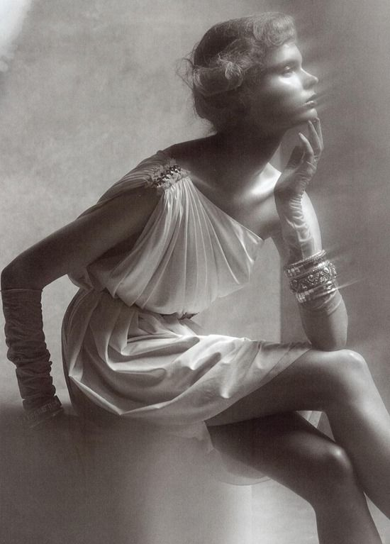 Reflections of Glamour, Vogue Italia, Steven Meisel