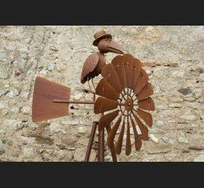 girouette eolienne corbeau girouettes et enseignes pinterest girouettes corbeaux et. Black Bedroom Furniture Sets. Home Design Ideas
