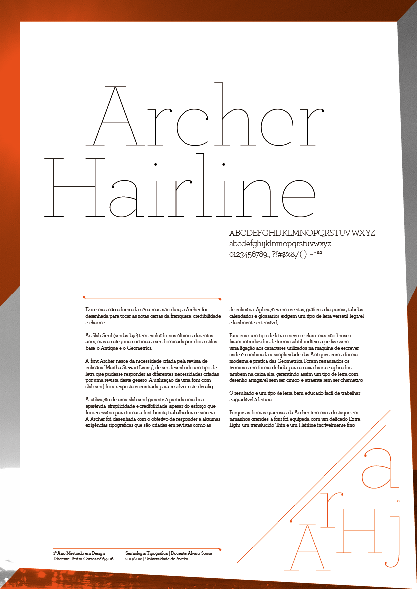 Archer Hairline font | Graphic | Pinterest | Fonts, Typography and ...