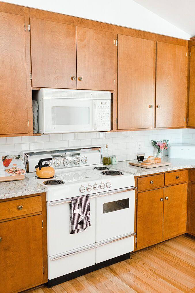 Our Budget Friendly Mid Century Kitchen Makeover Mid Century
