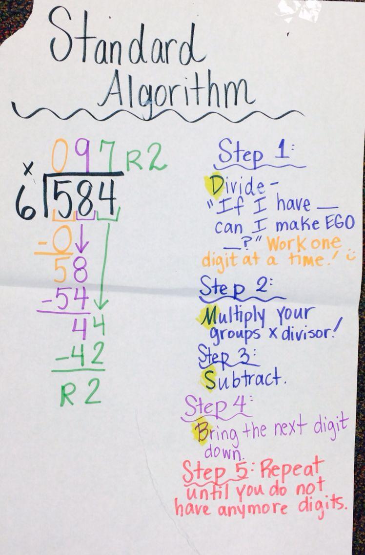Subtraction: What is &quot-the&quot- Standard Algorithm? | Math ? Blog