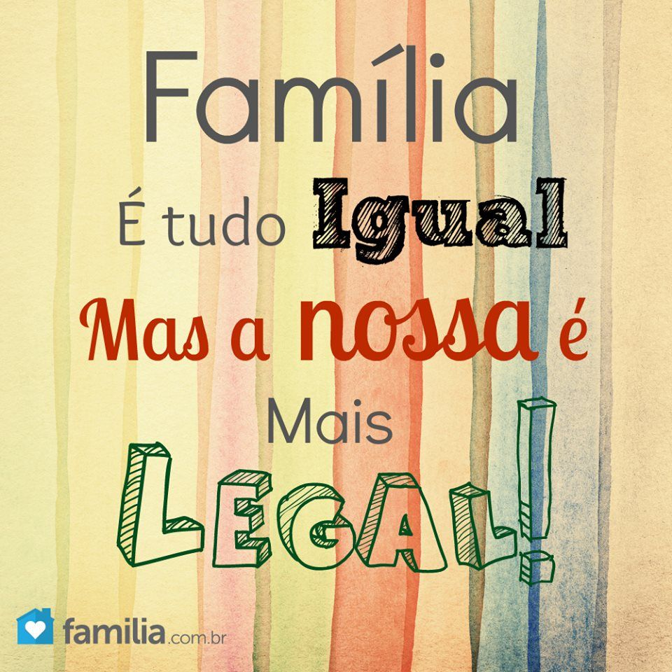 Nossa Família é Mais Legal Quadros Com Frases Quadros