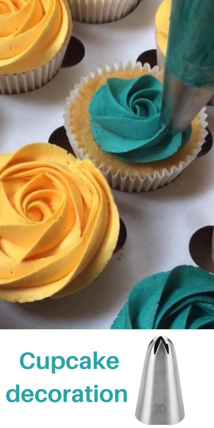 Cupcake decoration techniques