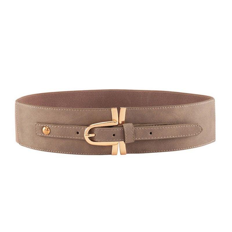 Fashion Women Casual Belt Long Pin Buckle Genuine Leather Belt Woman for Dress Female Strap