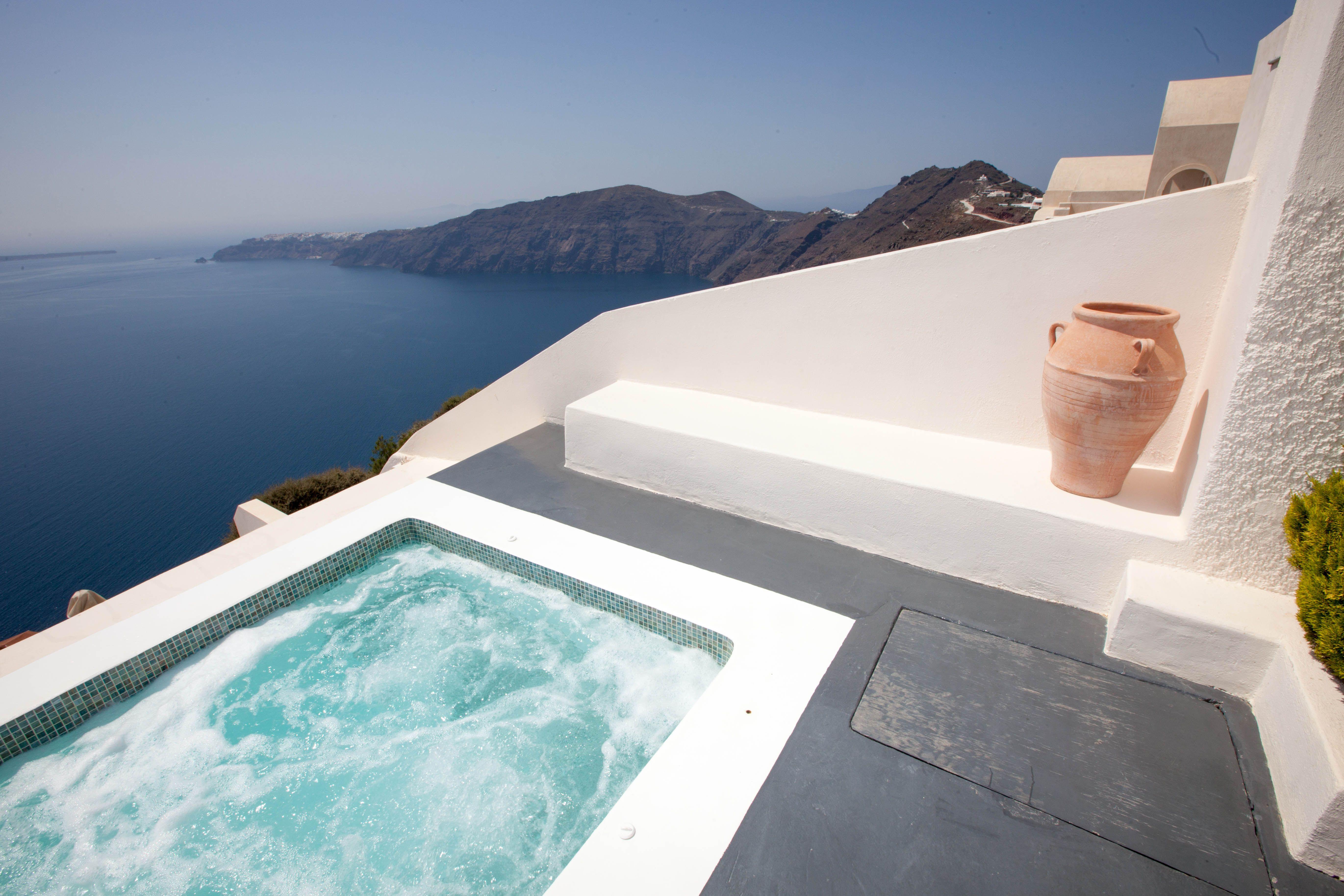 Anastasis Apartments In Imerovigli Santorini Greece The 4 Romance Hotel World