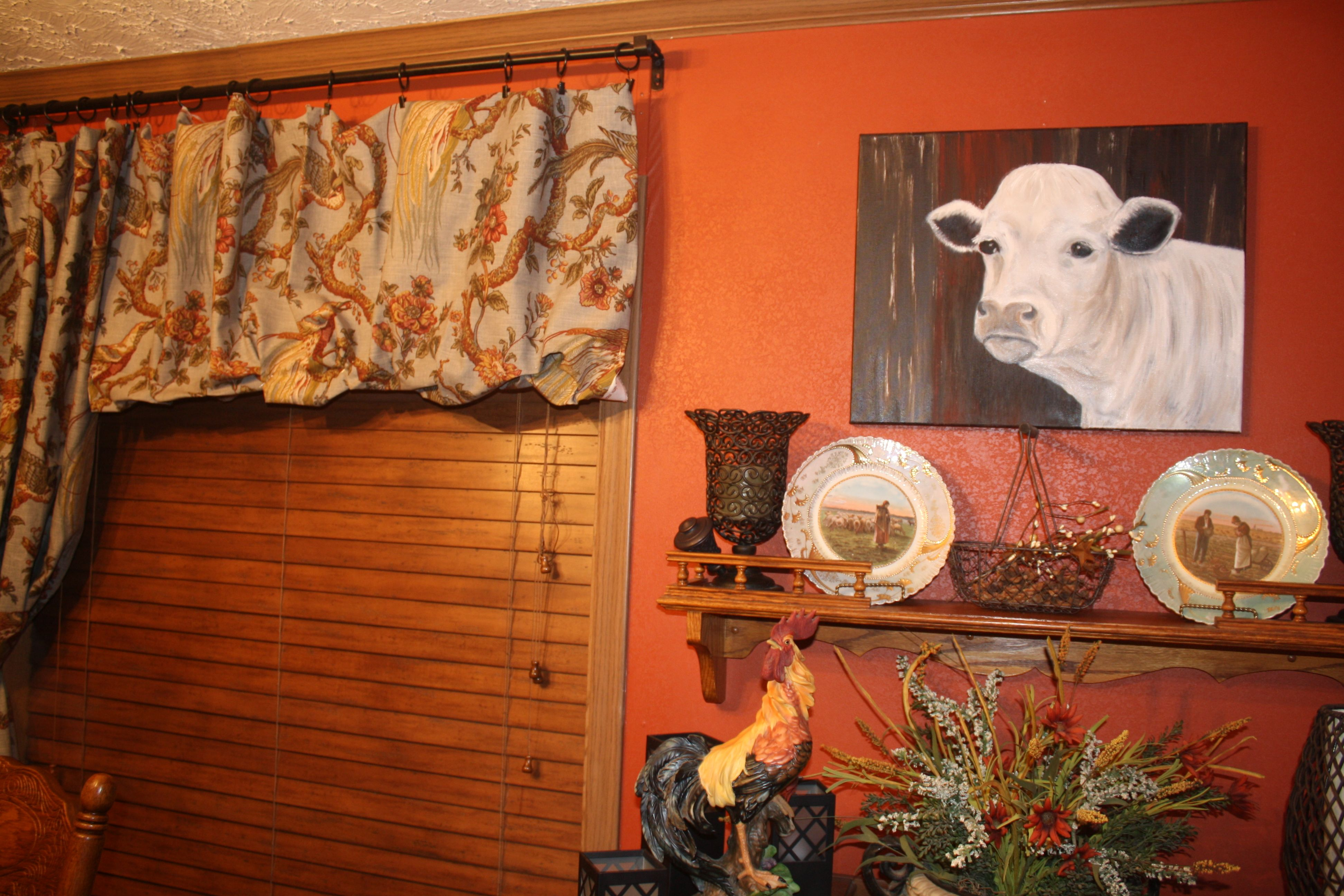 Cow Oil Painting By Me Leanna Randol And The Next Project Of