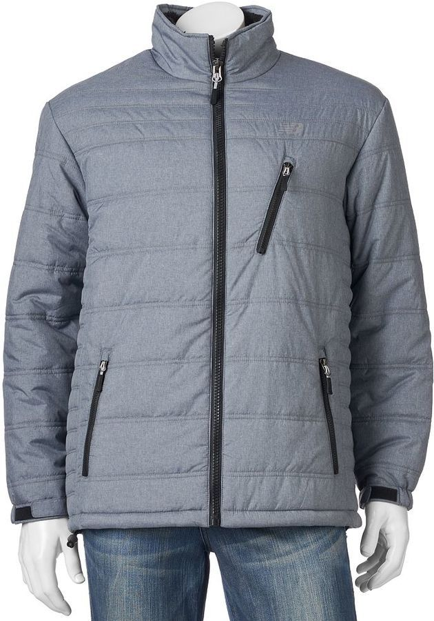 new balance puffer jacket. big \u0026 tall new balance puffer jacket o