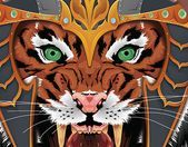 Check out new work on my Behance portfolio Warrior Tiger Illustration  Check out new work on my Behance portfolio Warrior Tiger Illustration