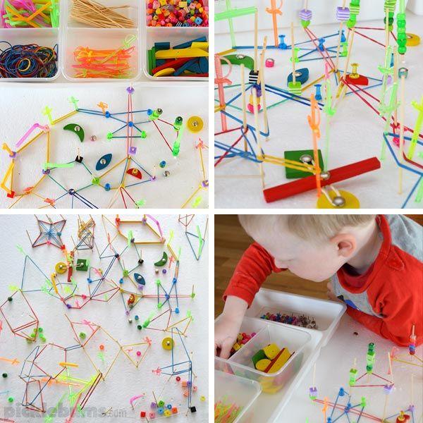 Crazy Craft Ideas For Kids Part - 22: Crazy DIY Geoboard. Kids MathPlay IdeasPreschool ...