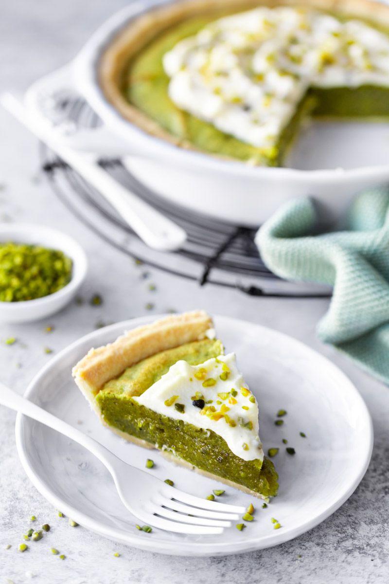 Pistazien Pie mit weißer Schokolade von Nicest Things - Life Is Full Of Goodies